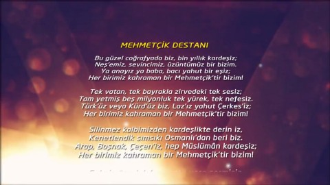 VİDEO I MEHMETÇİK DESTANI ŞİİRİ